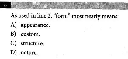 新SAT阅读高频易错知识点整理