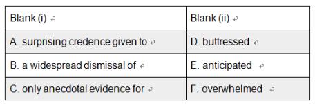GRE填空题型练习(1)