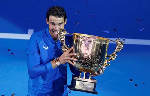 中国网球公开赛:纳达尔夺职业生涯第75冠(双语)