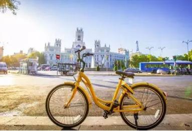 ofo共享单车进驻西班牙 厉害了小黄车!