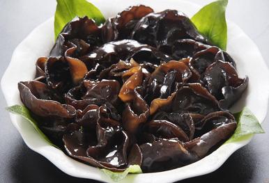 常见的食用菌种类韩语说法:목이버섯木耳