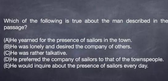 SSAT阅读《Treasure Island》小说片段精讲