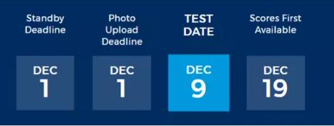 12月9号ACT考试预告及注意事项