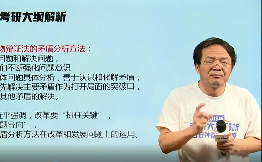新东方在线阮晔解析2019考研政治大纲