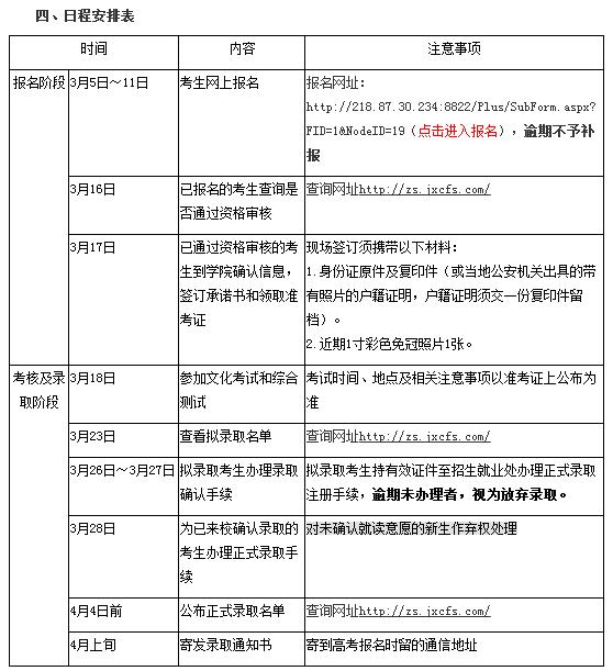 江西外语外贸学生职业2018年高职单招简章浙江学院高中图片
