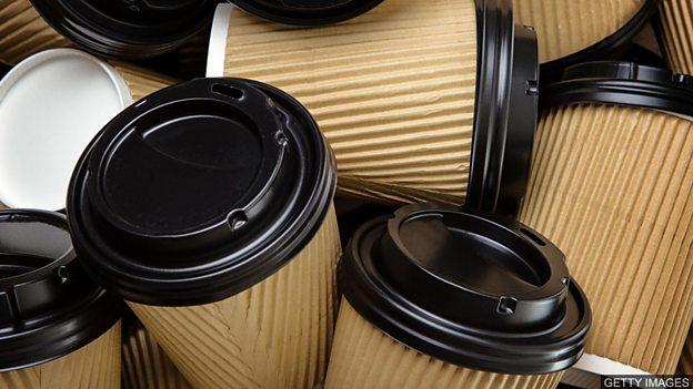 """英国议员提议对外带咖啡杯征收""""拿铁税"""""""