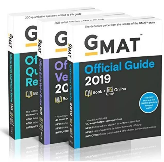 2019版GMAT官方指南(OG)