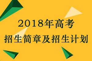 2018年全国高校高考招生简章