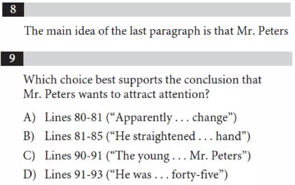 SAT阅读题型思路解析(详细版)