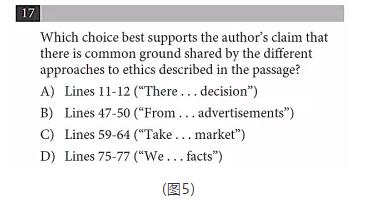 SAT阅读细节题和循证题作答方法