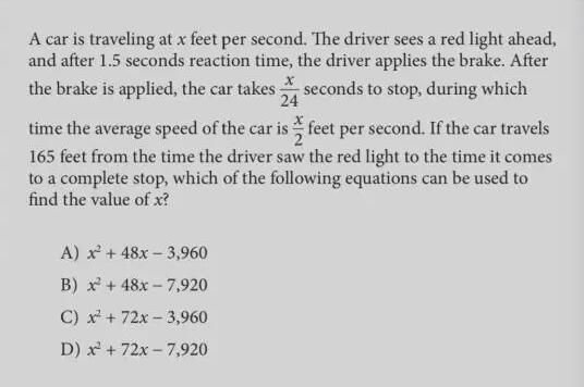 SAT数学高数知识点
