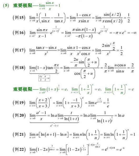 求极限的方法(3)