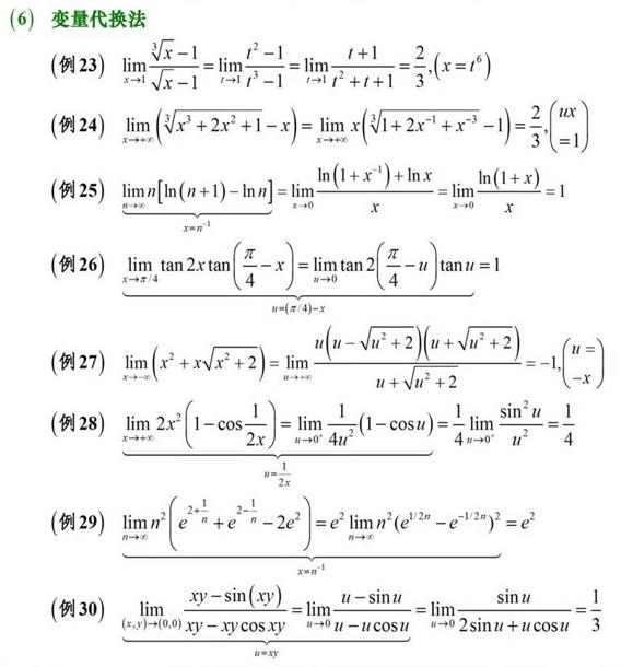 求极限的方法(4)