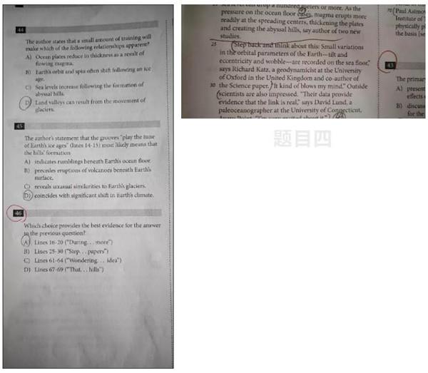 8月北美SAT阅读考前必看错题集锦