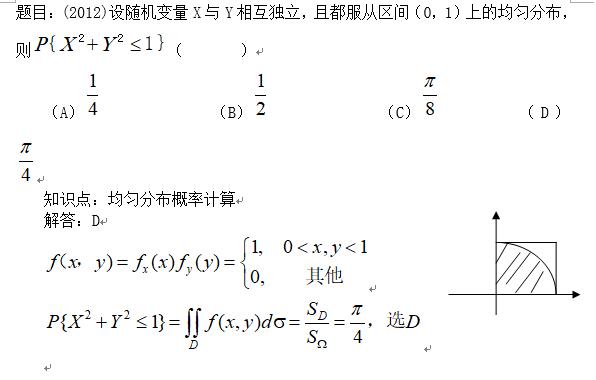 概率例題及知識點應用:均勻分布概率計算