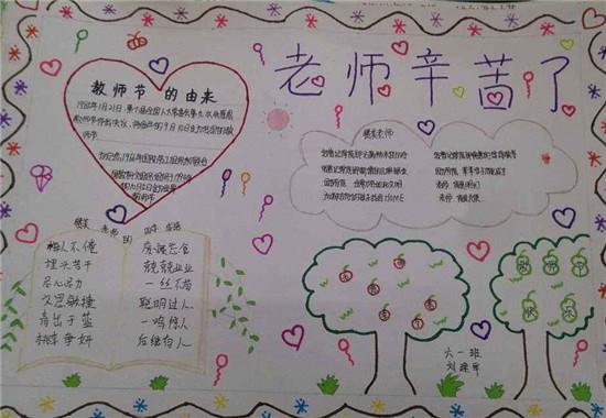 教师节手抄报内容资料大全图片