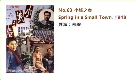 《小城之春》(Spring in a Small Town)影评(中英双语)