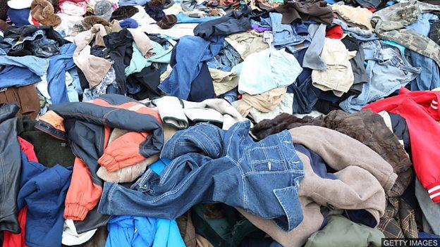 Clothing and the environment 时装产业对环境的影响