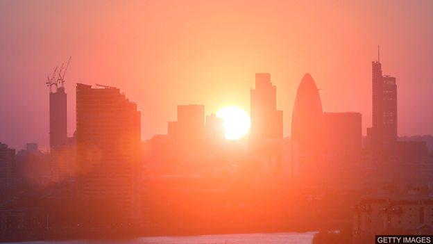 气候变暖使英国出现热浪的几率增加三十倍