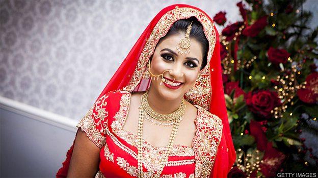 Bollywood bridal wear 宝莱坞新娘婚纱