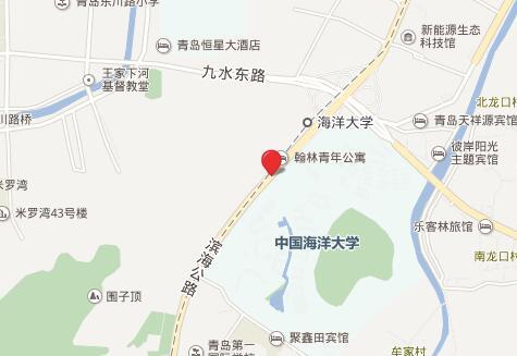 中国海洋大学托福考点地图