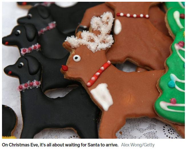 盘点10个国家的不同圣诞习俗(双语)