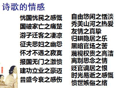 [高考语文]2016高考诗歌鉴赏答题技巧(下载版)