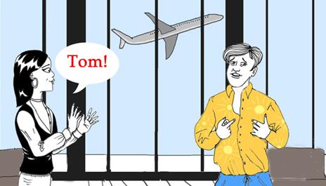 Last call for Tom 最后的挽留