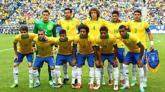 2014年巴西世界杯巴西队阵容_2014年世界杯球队—巴西队介绍_世界杯_新东方在线