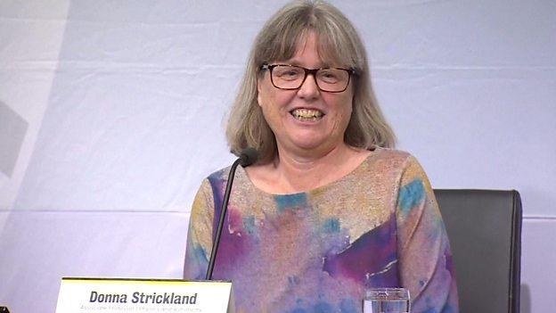 五十五年来首位女性获诺贝尔物理学奖
