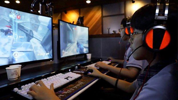 South Korea's gaming addiction 韩国青少年沉迷网络游戏