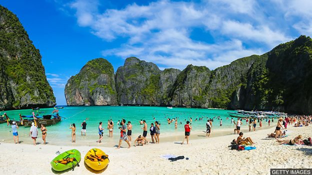 Maya Bay: Saving paradise 玛雅湾:拯救天堂般美丽的海滩