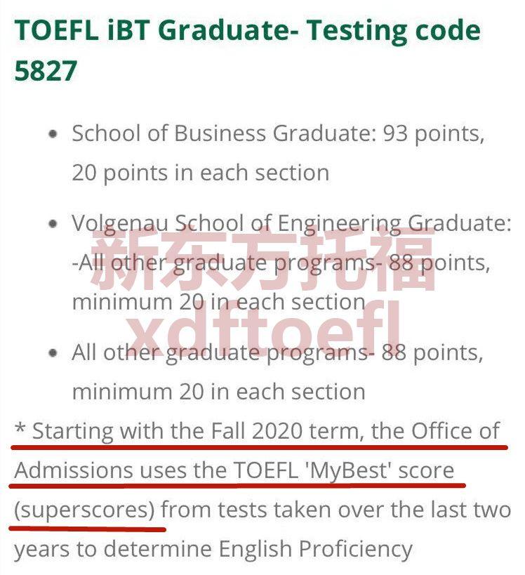乔治梅森大学是否接受托福拼分成绩