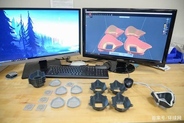 美军用3D打印自制N95口罩 可反复多次使用